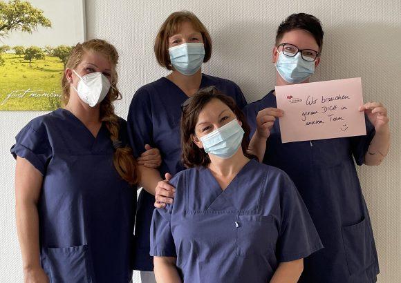 Gesundheits- und Krankenpfleger (m/w/d) oder Medizinische Fachangestellte (m/w/d) in Vollzeit oder Teilzeit (mind. 30 h/Woche) als Stationsassistentin